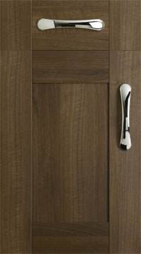 5 Piece Door - Tuscany/Dark Walnut