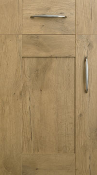 5 Piece Door - Tuscany/Natural Oak