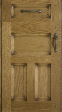 Solid Door - Princeton/Solid Oak