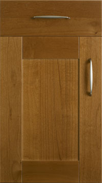 Solid Door - Shaker/Solid Cherry