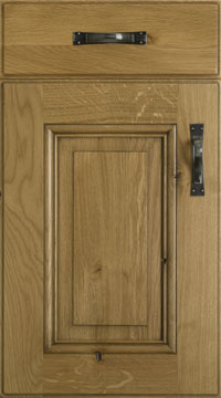 Solid Door - Harvard/Solid Character Oak