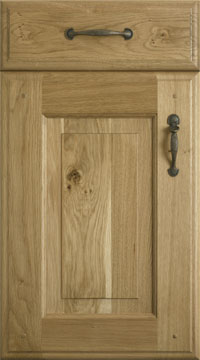 Solid Door - Yale/Solid Character Oak