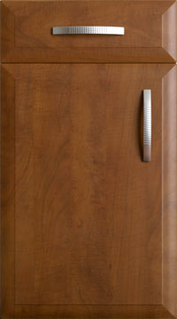 High Gloss/Modern Door - Derwent/Sienna Calvados
