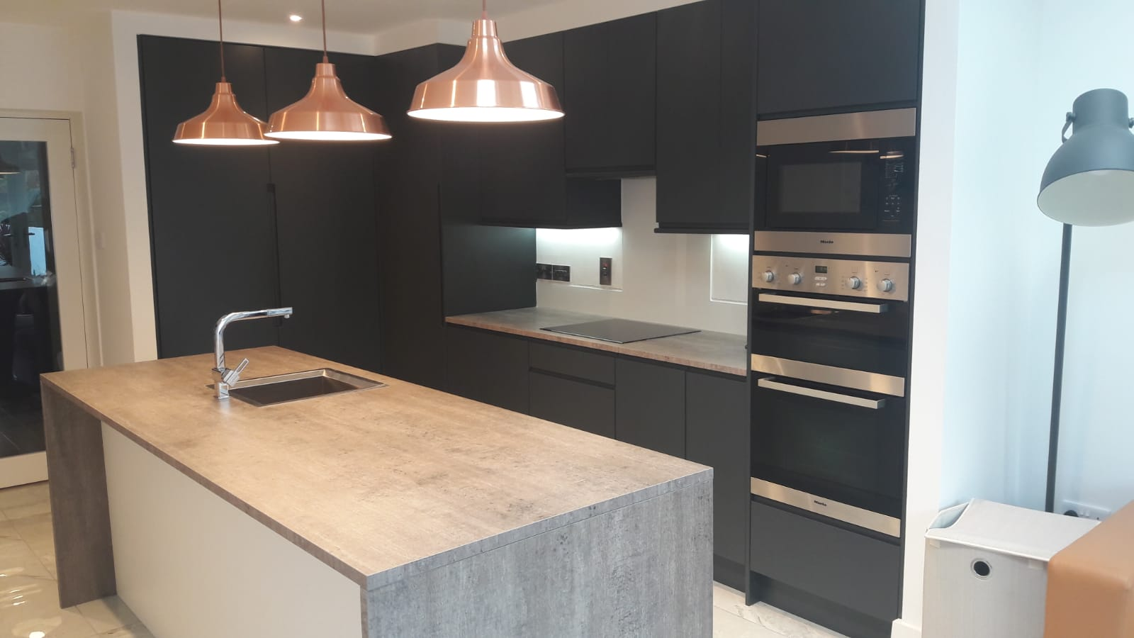 Alder Interiors Graphite Kitchen